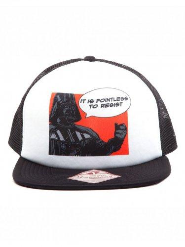 Darth Vader™-Basecap Star Wars™ Accessoires schwarz-weiss