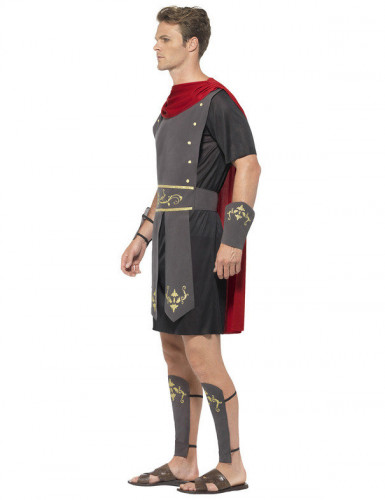 Gladiator Kostüm Antike Krieger schwarz-rot-1