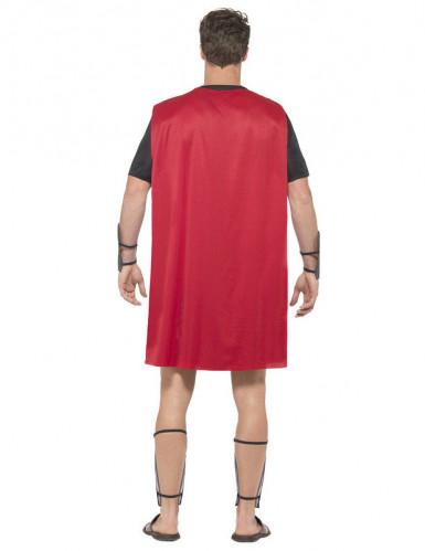 Gladiator Kostüm Antike Krieger schwarz-rot-2