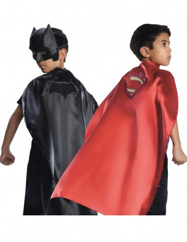 Wendbarer Kinderumhang Batman™ vs Superman™ mehrfarbig