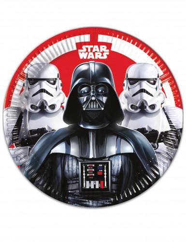 Star Wars Final Battle™ Partyteller Lizenzware 8 Stück bunt 23cm