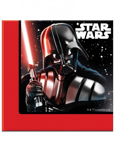 Star Wars Final Battle™ Partyservietten Lizenzware 20 Stück bunt 33x33cm