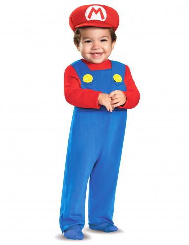 Mario™-Kleinkinderkostüm Nintendo®-Lizenzkostüm blau-rot