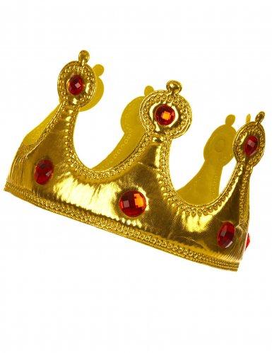 Königskrone Kostümaccessoire gold