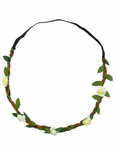 Blumenkrone Haarschmuck Kostüm-Accessoire bunt