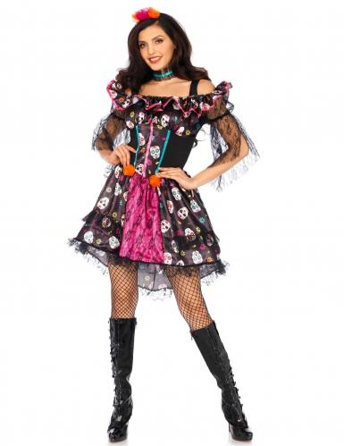 Kostüm Dia de los Muertos für Erwachsene