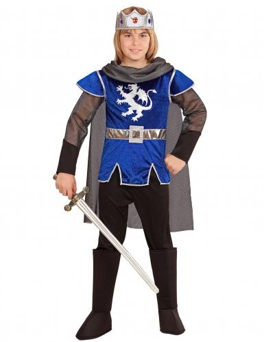 Kostüm Blue Knight König Kinder
