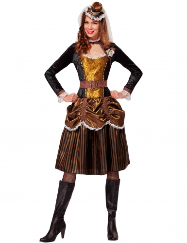 Steampunk Barock-Kostüm Prinzessin