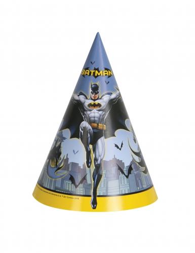 Batman™ Partyhüte Party-Accessoire 8 Stück bunt
