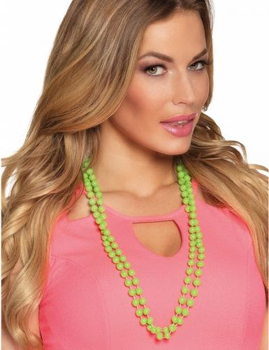 Perlenketten für Erwachsene 2 Stück grün