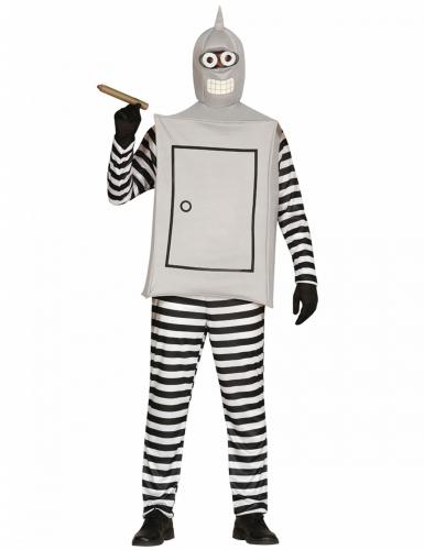 roboter kost m schwarz weiss grau g nstige faschings kost me bei karneval megastore. Black Bedroom Furniture Sets. Home Design Ideas