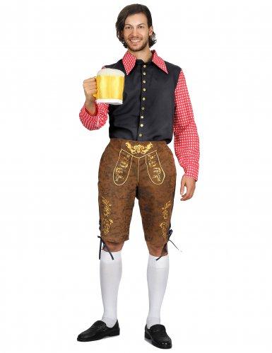 Bayer-Kostüm Oktoberfest-Kostüm für Herren bunt