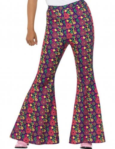 Hippie-Schlaghose für Damen bunt