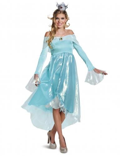 Super Mario Rosalina™-Kostüm Karneval blau