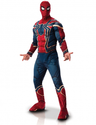 Iron Spider™-Deluxekostüm Infinity War™ blau-rot-gold