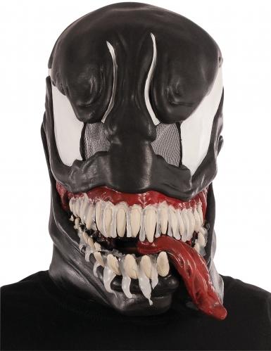 Venom™ Maske Marvel™ Latexmaske für Erwachsene schwarz-weiss-rot