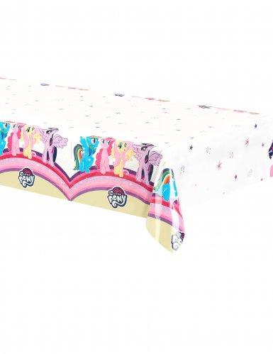 My Little Pony™-Tischdecke Lizenzartikel weiss-bunt 120x180cm