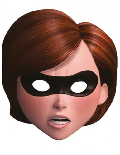 Mrs. Incredible™-Maske Helen Parr Die Unglaublichen™-Lizenzartikel beige-braun