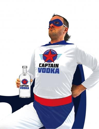 Super Captain Vodka Kostüm für Erwachsene bunt