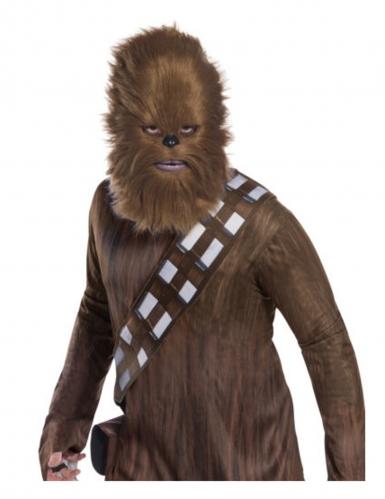 Chewbacca™-Maske für Erwachsene Star Wars™-Maske Wookie braun