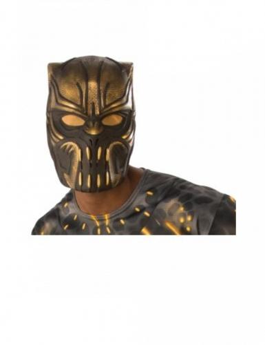 Erik Killmonger™ Halbmaske für Erwachsene braun-goldfarben