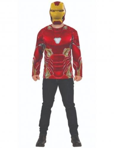 Iron Man™-Kostüm Infinity War™ Faschingskostüm rot-gelb