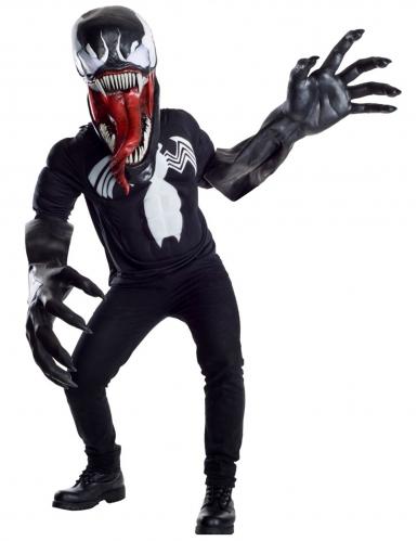 Venom™-Kostüm Marvel™ schwarz-weiss