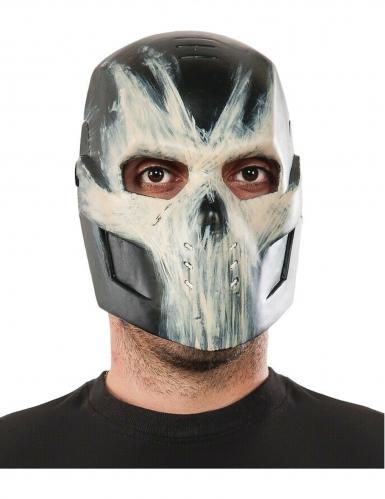 Crossbones-Halbmaske für Erwachsene Captain America Civil War™ schwarz-weiss