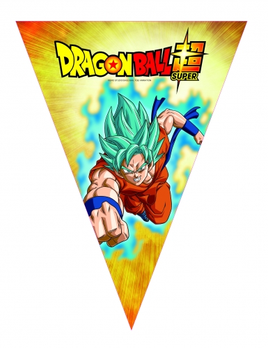Dragon Ball Super™ Girlande bunt 3,6 m
