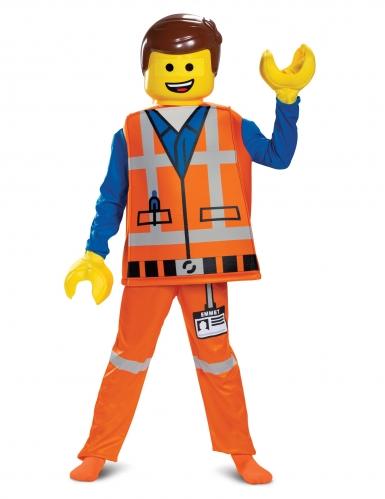Lego™-Deluxekostüm für Kinder Emmet Lego Movie 2™ bunt