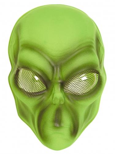 Alien-Maske für Erwachsene grün