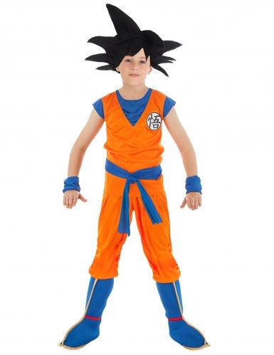 Son Goku™-Kinderkostüm Dragonball Z™ orange-blau