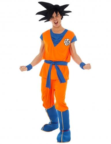 Son Goku-Kostüm Dragonball Z™-Kostüm orange
