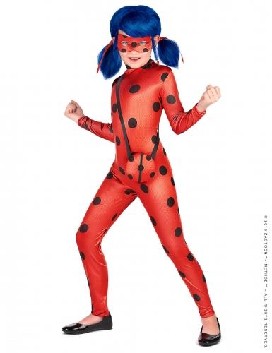 Ladybug™-Kostüm für Mädchen mit Taschen-Attrappe Miraculous™ rot-schwarz
