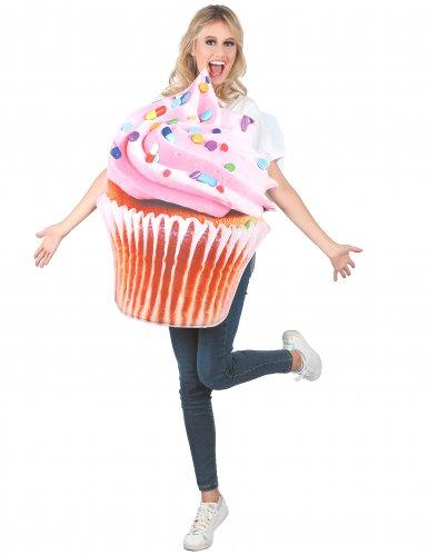 Cupcake-Kostüme für Damen Lebensmittel-Kostüm bunt