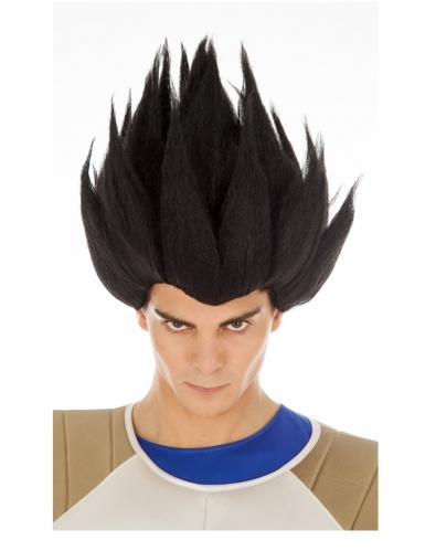 Vegeta™-Perücke für Erwachsene Dragon Ball™-Perücke schwarz
