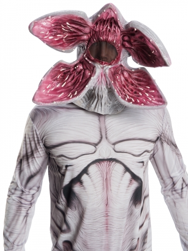 Demogorgon-Maske Stranger Things™ Halloween-Maske beige-rosa