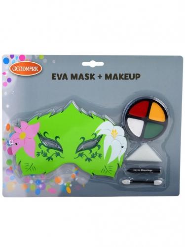 Feen-Schminkset für Mädchen mit Maske 5-teilig bunt