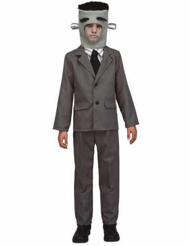 Frankenmonster-Kostüm für Kinder Halloweenkostüm grau