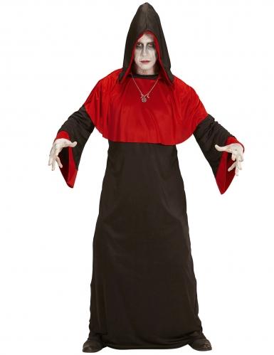 Endzeit-Dämon-Kostüm für Herren Halloweenkostüm schwarz-rot