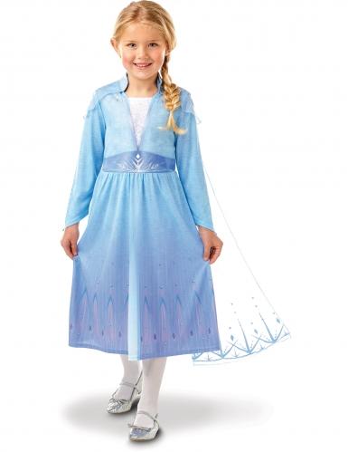 Elsa-Kostüm für Mädchen Disney Frozen 2™ blau-violett
