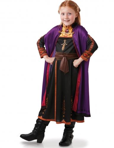 Anna-Kostüm für Mädchen Frozen-Kostüm Die Eiskönigin 2™ schwarz-lila