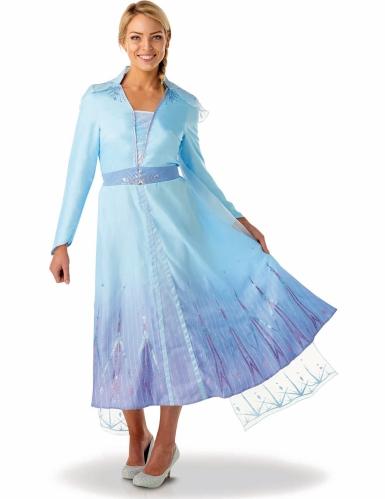 Elsa-Kostüm für Damen Frozen 2™ blau-violett
