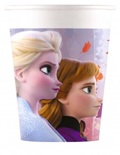 Frozen 2 ™-Partybecher für Mädchen 8 Stück bunt 200 ml