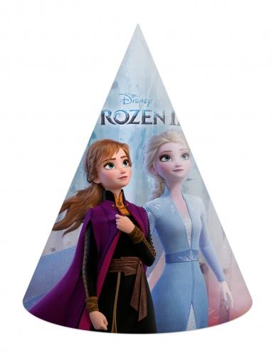 Frozen 2™-Partyhüte für Kinder Disney™ 6 Stück bunt