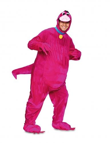 Dinosaurier-Kostüm für Erwachsene Faschingskostüm pink
