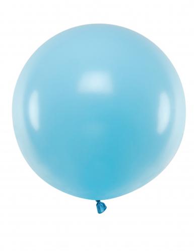 Riesenballon aus Latex blau 60 cm
