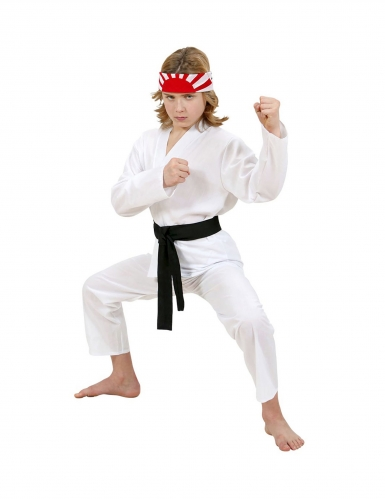 Kinder-Karate-Kostüm Karate-Anzug Kinder-Karneval-Kostüm