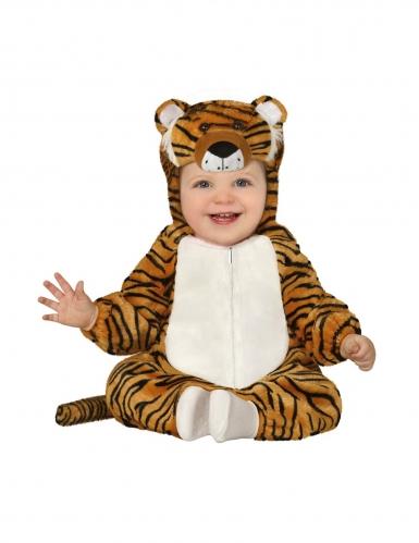 Tiger-Kostüm für Babys / Kleinkinder braun-schwarz