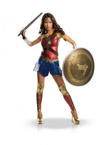 Wonder Woman™-Kostüm für Damen Kult-Kostüm bunt
